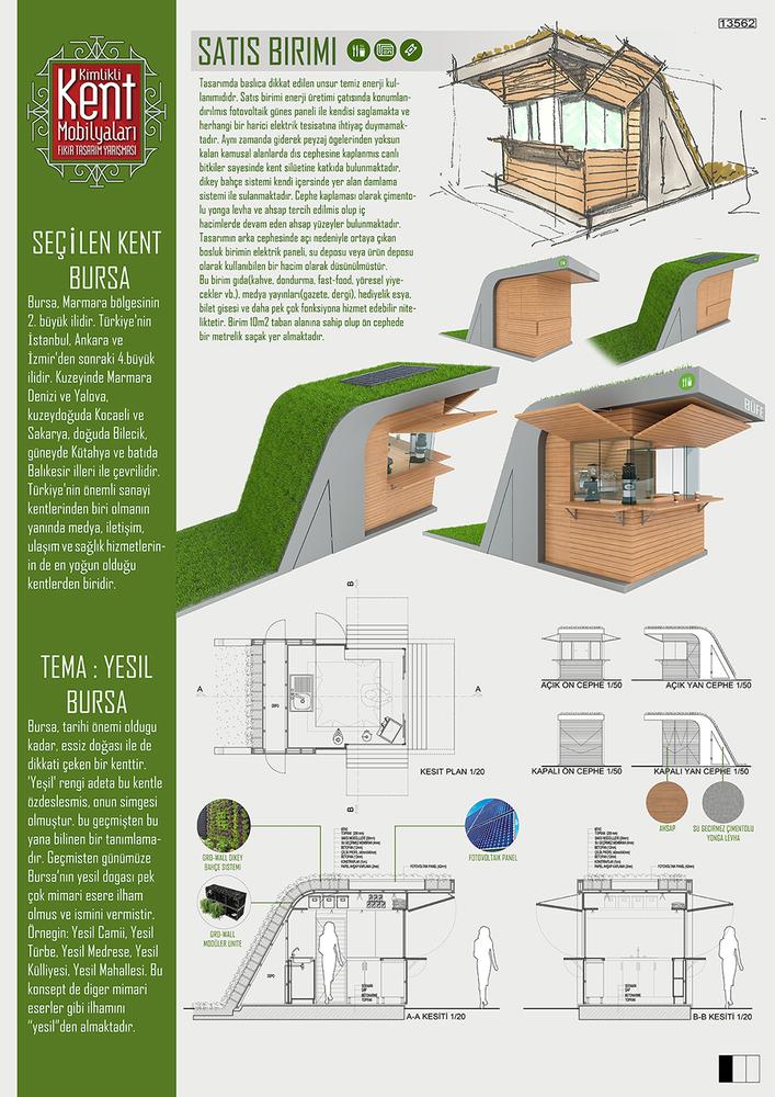 3. Ödül, Kimlikli Kent Mobilyaları Fikir Tasarım Yarışması