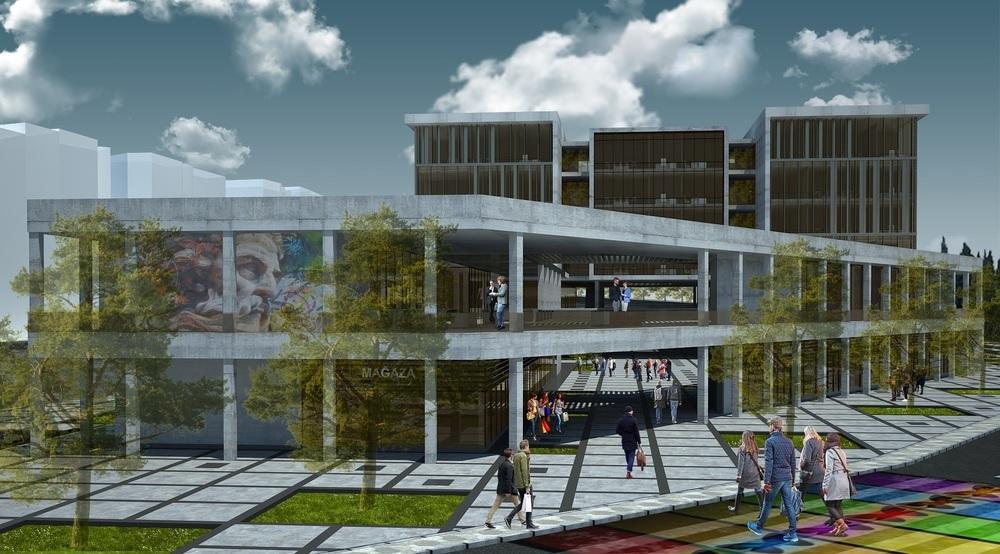 Katılımcı (Güvenlife Mimarlık), Süleymanpaşa Belediye Hizmet Binası Mimari Proje Yarışması