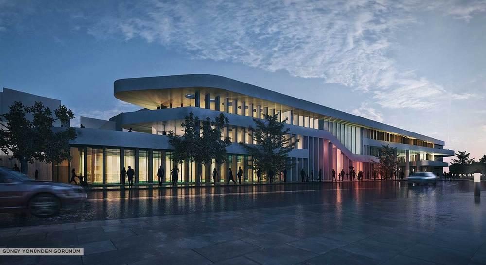 Katılımcı (NSMH), Süleymanpaşa Belediye Hizmet Binası Mimari Proje Yarışması