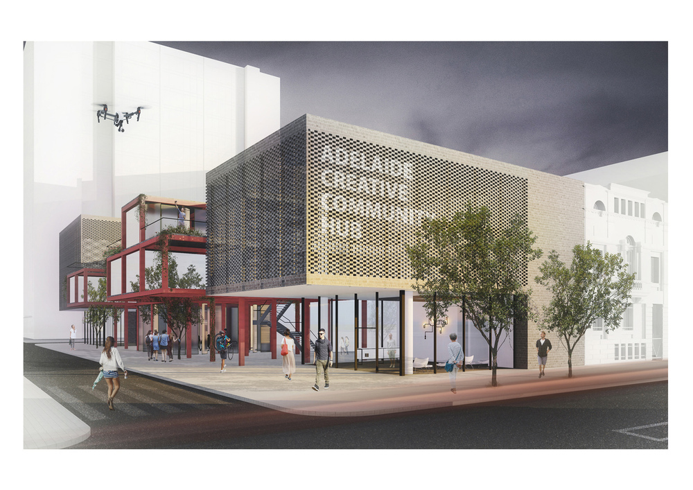 Eşdeğer Mansiyon, Adelaide Creative Community Hub Competition