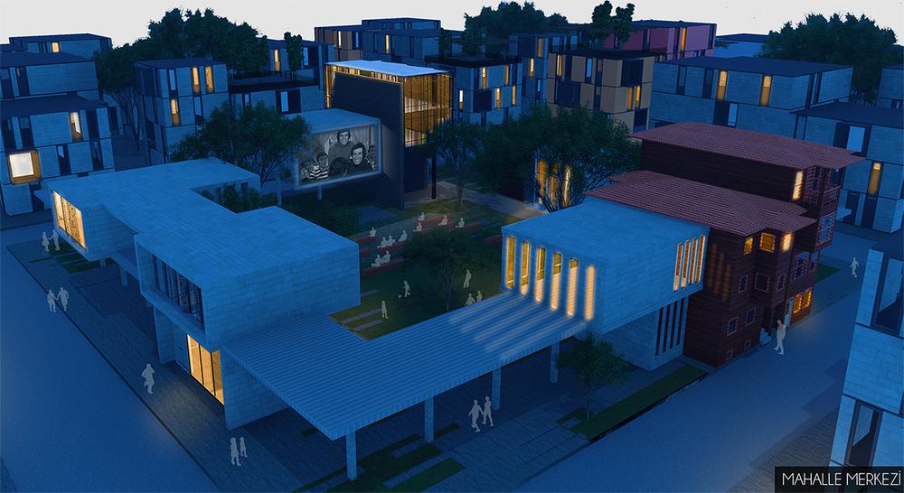 """Teşvik Ödülü, """"Mahallem: Bakırköy"""" Uluslararası Katılımlı Öğrenci Mimari Fikir Projesi Yarışması"""