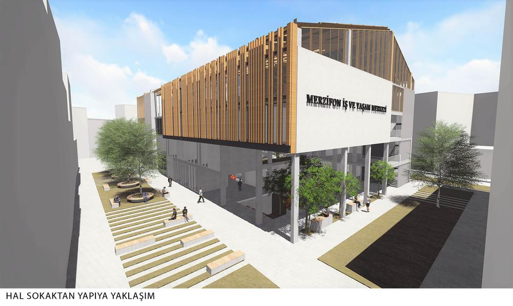 Katılımcı, Merzifon Belediyesi İş ve Yaşam Merkezi Mimari Proje Yarışması