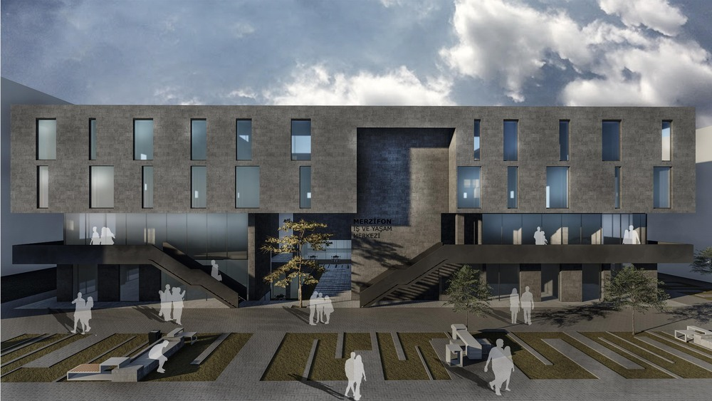 Proje Önerisi, Merzifon Belediyesi İş ve Yaşam Merkezi Mimari Proje Yarışması