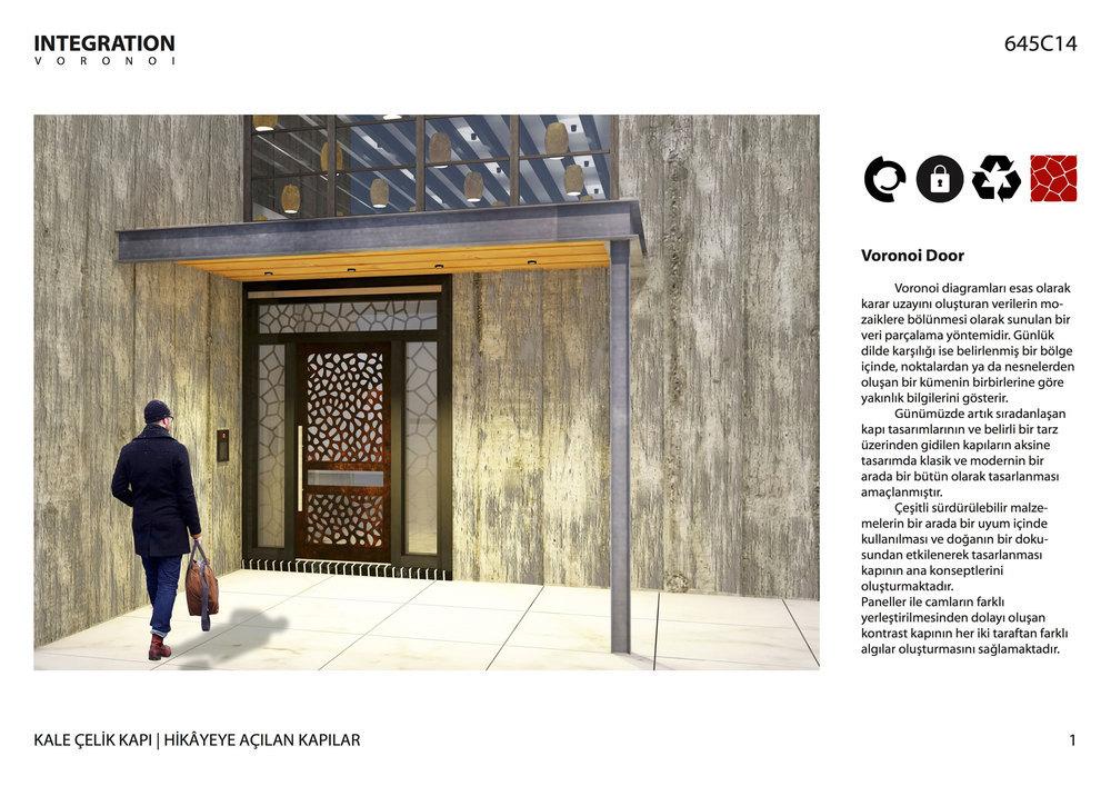 """Katılımcı, """"Hikayeye Açılan Kapılar"""" Kapı Tasarım Yarışması"""