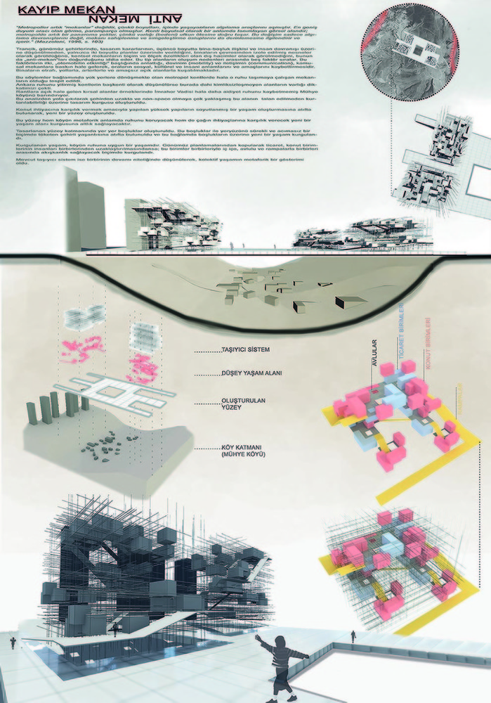"""Katılımcı, Ytong Mimari Fikir Yarışması: """"Şehirden Uzak"""""""