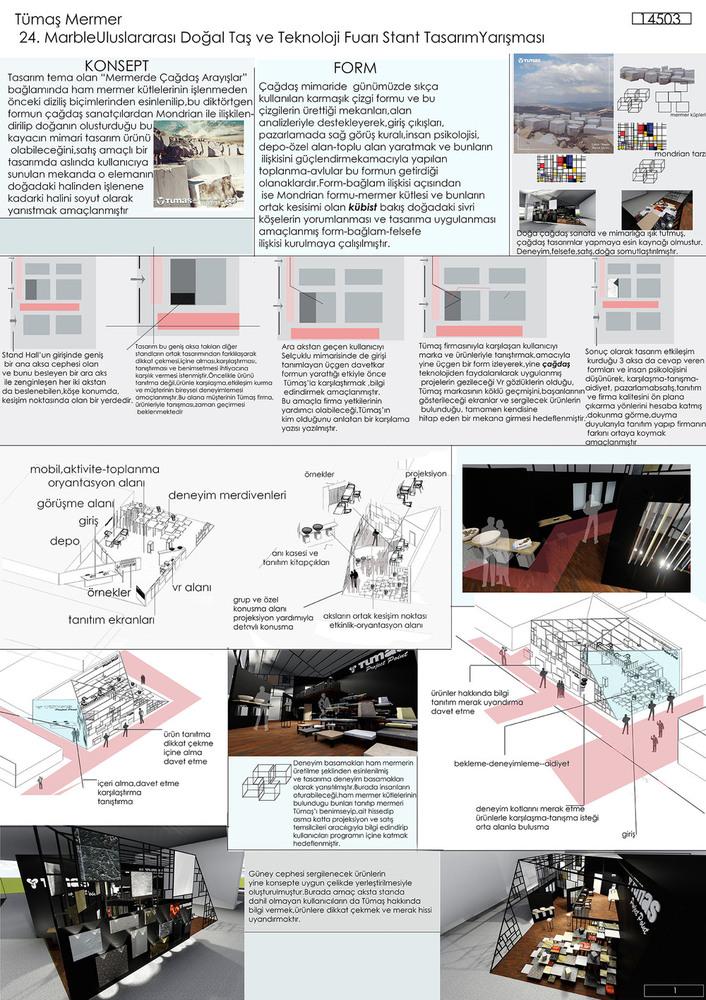 3. Mansiyon, 3. Geleneksel Stant Tasarım Öğrenci Yarışması