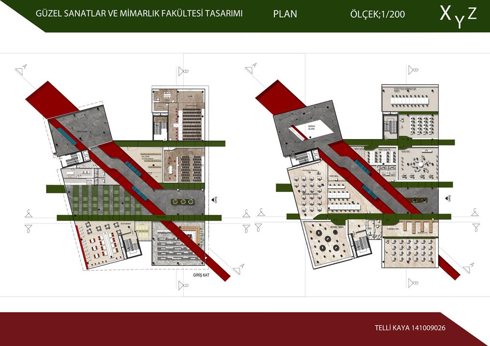 Güzel Sanatlar ve Mimarlık Fakültesi Tasarımı
