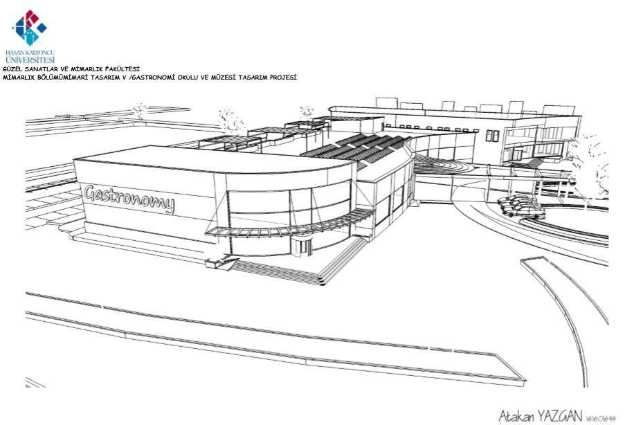 Gaziantep Gastronomi Okulu ve Müzesi Tasarım Projesi