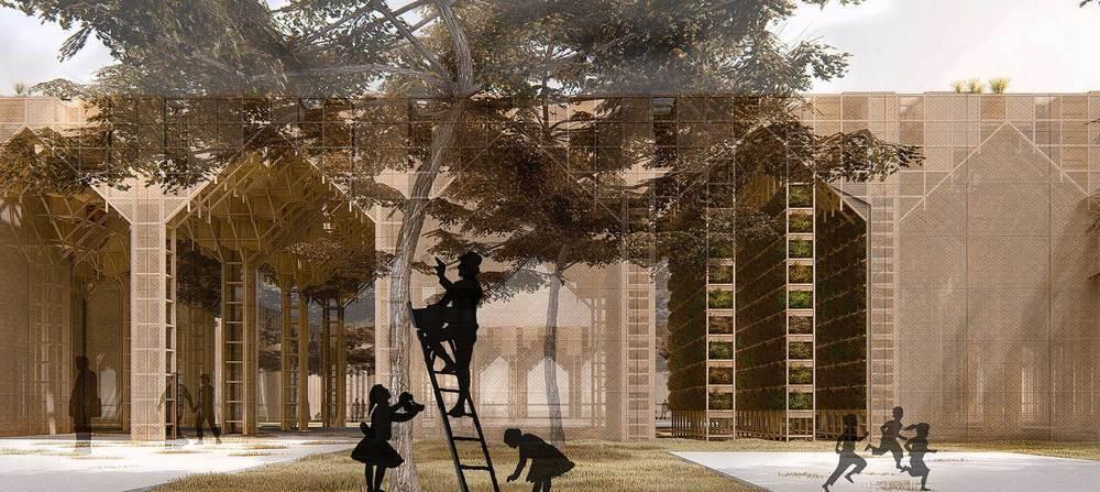 2. Ödül (Baraka Mimarlık), Kamu Binaları Tasarımı Fikir Yarışması