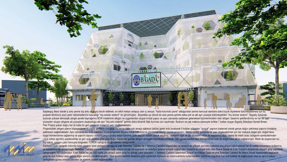 Katılımcı (1Z Mimarlık), Kamu Binaları Tasarımı Fikir Yarışması