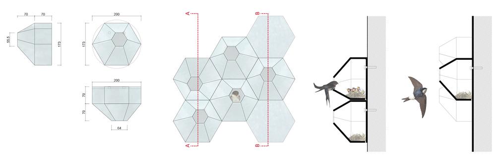 Mansiyon (Profesyonel / Seramik, Mermer Kategorisi), Nesilden Nesile Kuş Evleri Tasarım Yarışması