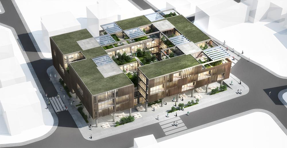 Katılımcı (CO-FACT), Kamu Binaları Tasarımı Fikir Yarışması