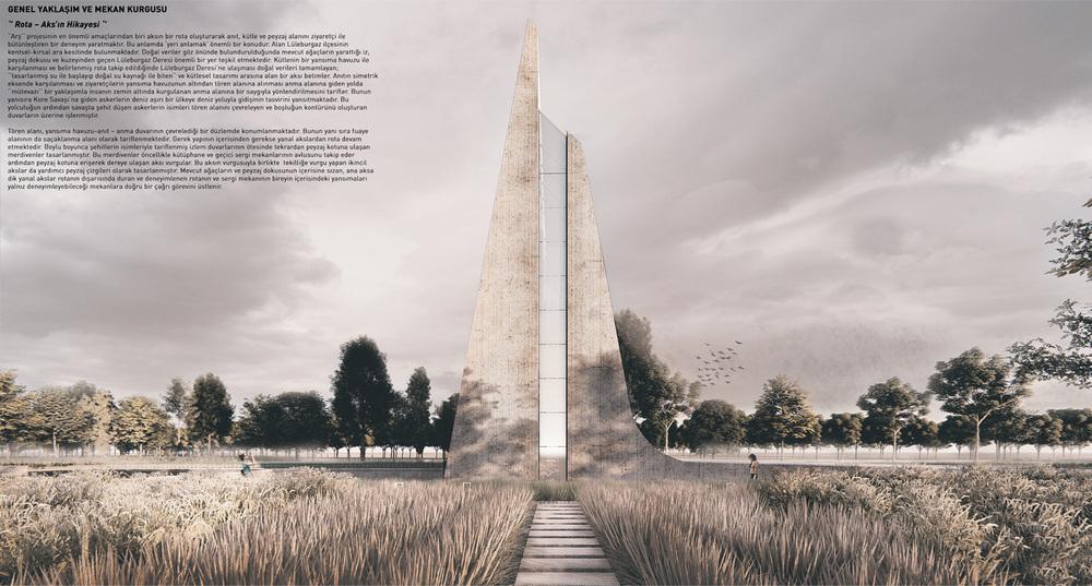 Katılımcı (MimLab), Kore Savaşı Anma Alanı ve Ziyaretçi Merkezi Mimari Proje Yarışması