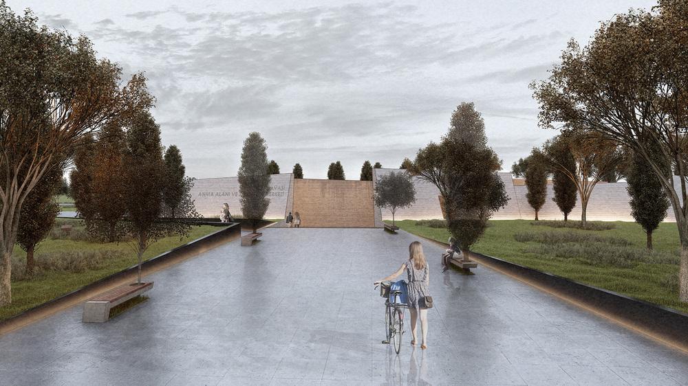Katılımcı (SA-YU Architects), Kore Savaşı Anma Alanı ve Ziyaretçi Merkezi Mimari Proje Yarışması