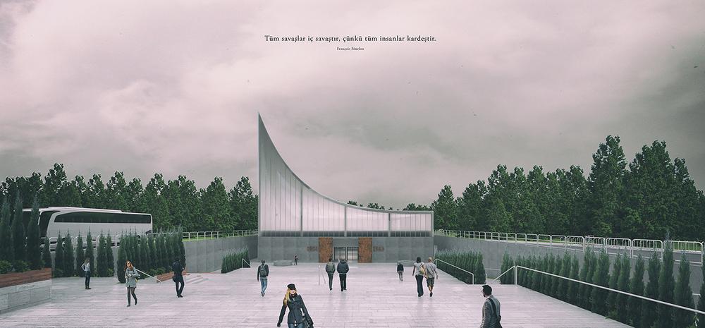 Katılımcı, Kore Savaşı Anma Alanı ve Ziyaretçi Merkezi Mimari Proje Yarışması