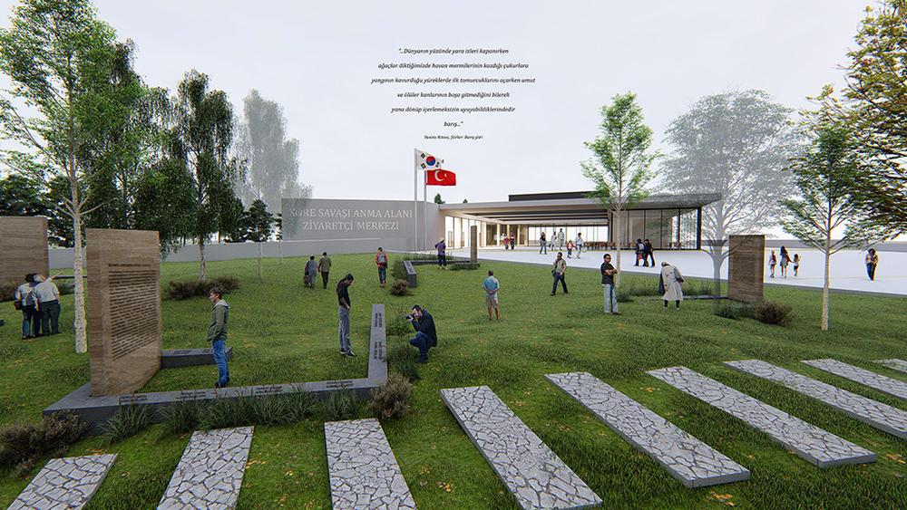Katılımcı (Revizyon Mimarlık), Kore Savaşı Anma Alanı ve Ziyaretçi Merkezi Mimari Proje Yarışması
