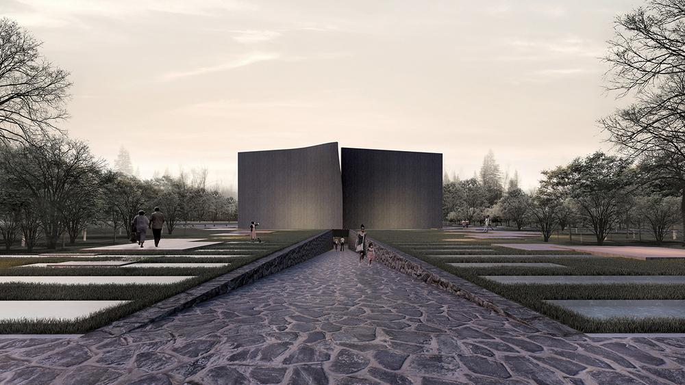 Katılımcı (monoroom | Architects), Kore Savaşı Anma Alanı ve Ziyaretçi Merkezi Mimari Proje Yarışması