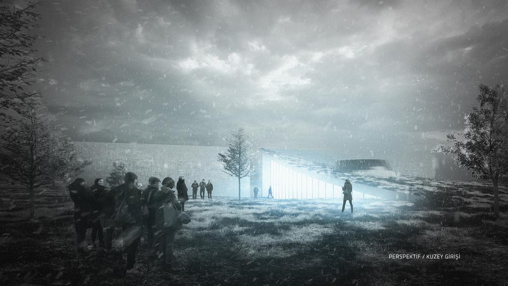 Katılımcı (OFİS MPU), Kore Savaşı Anma Alanı ve Ziyaretçi Merkezi Mimari Proje Yarışması
