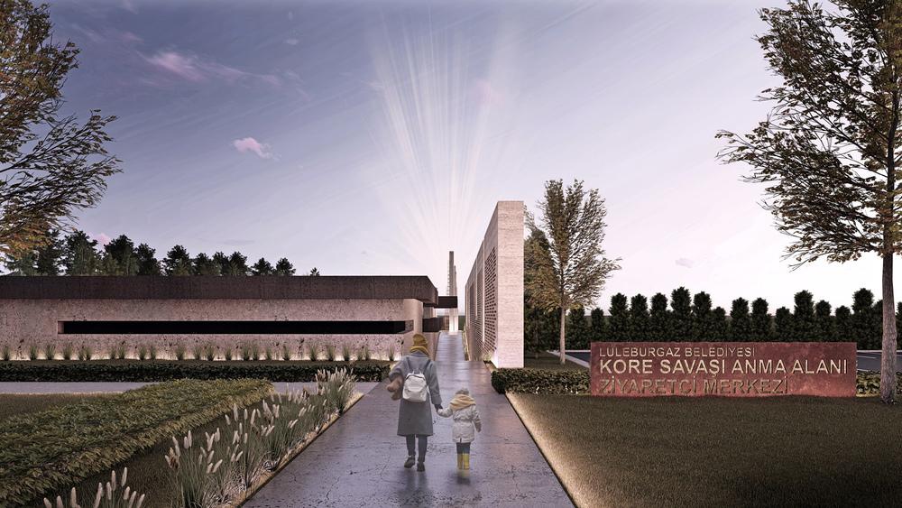 Katılımcı (CM2 Mimarlık ve Tasarım Stüdyosu), Kore Savaşı Anma Alanı ve Ziyaretçi Merkezi Mimari Proje Yarışması