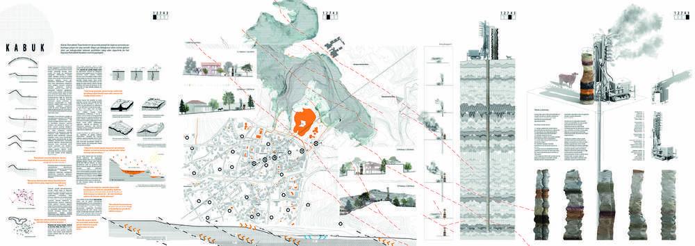 1. Ödül, DEGİAD - Yaşayan Pamukkale Ulusal Mimari Fikir Projesi Yarışması