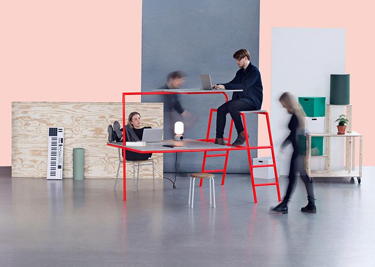 İki Katlı Masa, Şekerleme Köşesi ile Yeni Nesil Ofisler