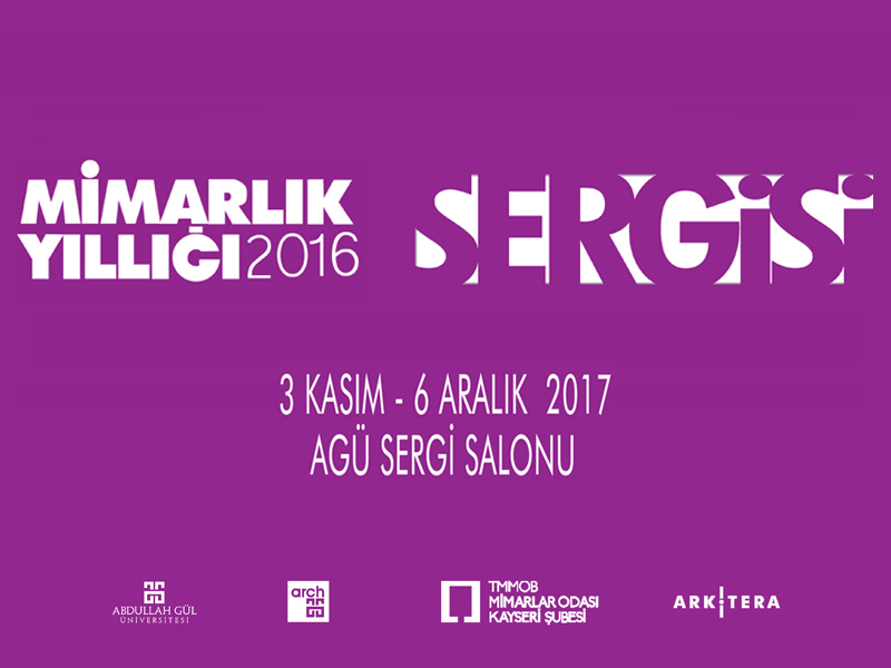 Mimarlık Yıllığı 2016 Sergisi Kayseri'de Açılıyor