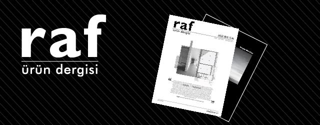 RAF Ürün Dergisi'nin Eylül Sayısı Çıktı!