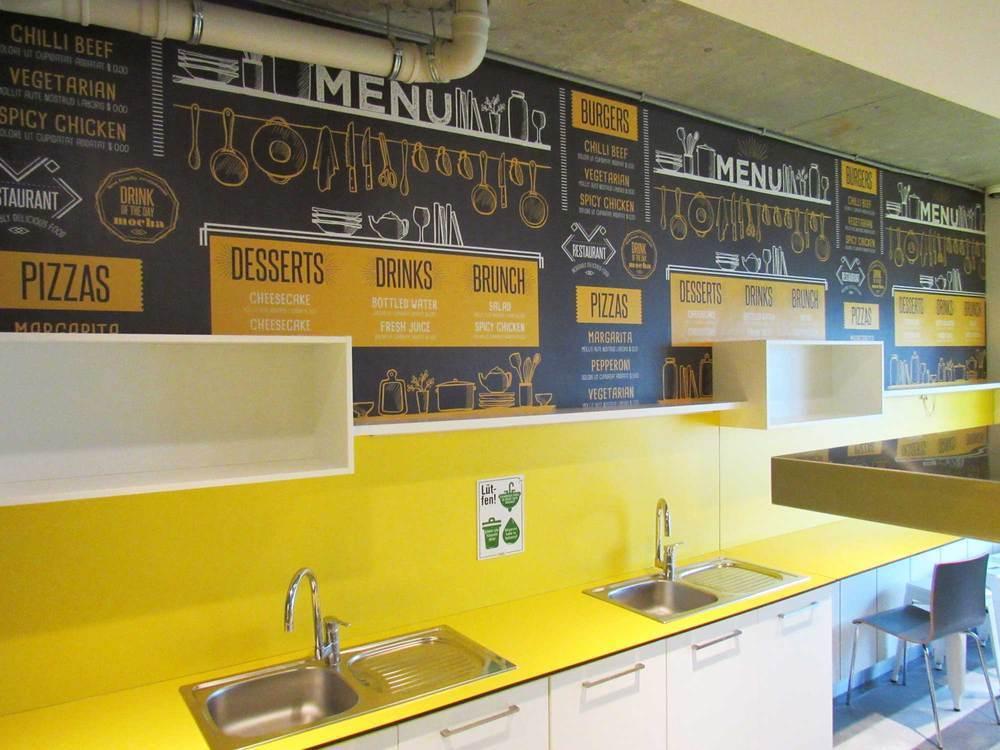 HD Walls Digital: Özel Tasarım - Özyeğin Üniversitesi Yeni Yurt Binası