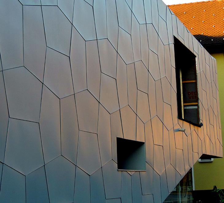 AZENGAR® <br>Yeni Estampe Yüzey Titanyum Çinko