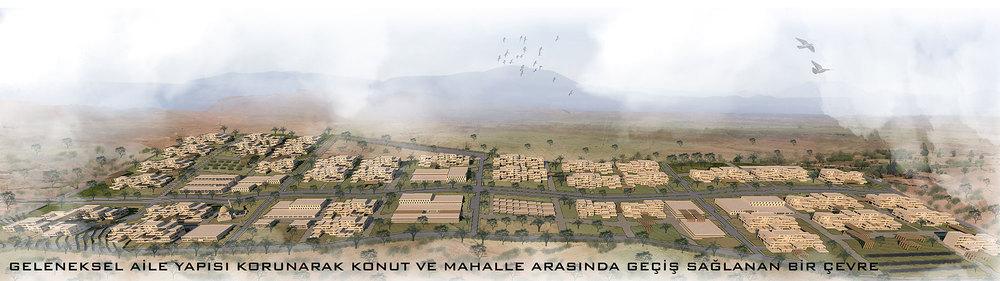 2. Mansiyon, Güneydoğu Anadolu Bölgesi (Mardin), 7 İklim 7 Bölge - Mahalle Ulusal Mimari ve Kentsel Tasarım Fikir Yarışması