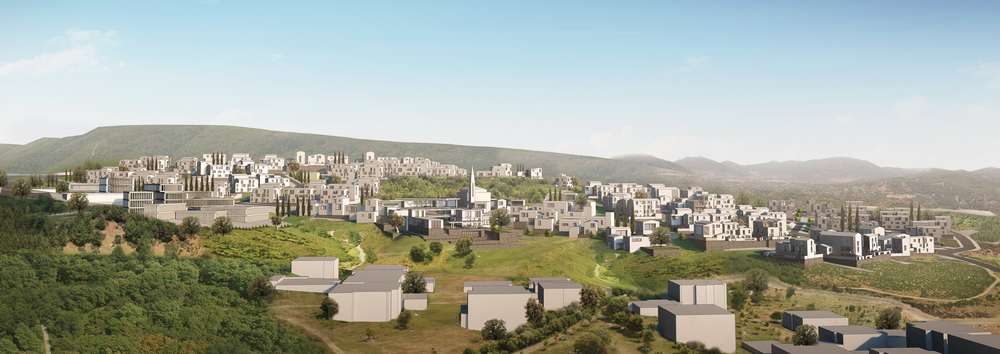 2. Ödül, Ege Bölgesi (Denizli), 7 İklim 7 Bölge - Mahalle Ulusal Mimari ve Kentsel Tasarım Fikir Yarışması