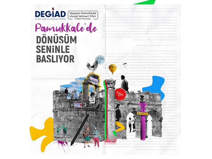 Yaşayan Pamukkale Ulusal Mimari Fikir Projesi Yarışması'nın Soru ve Cevapları Yayınlandı