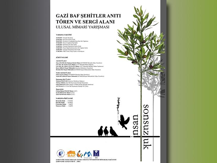 Gazi Baf Şehitler Anıtı Tören ve Sergi Alanı Ulusal Mimari Yarışması