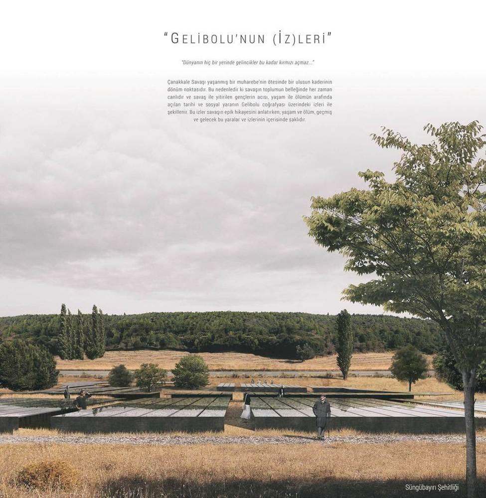 4.  Mansiyon, Gelibolu Tarihi Alanı Yeni Şehitlik Tasarımları Fikir Projesi Yarışması