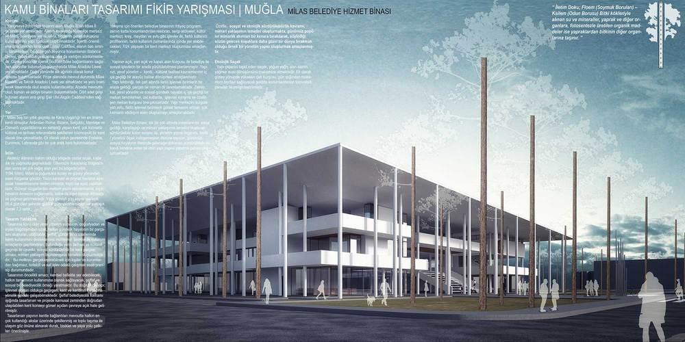 3. Ödül, Kamu Binaları Tasarımı Fikir Yarışması