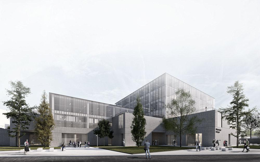 3. Ödül, Süleymanpaşa Belediye Hizmet Binası Mimari Proje Yarışması