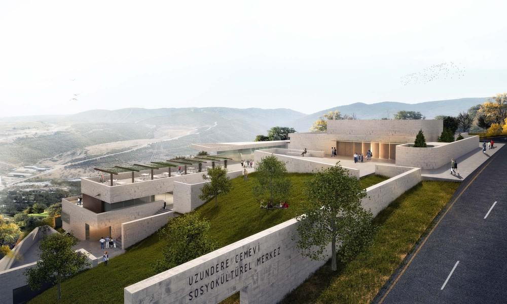4. Mansiyon, Uzundere Cemevi Sosyokültürel Merkez Mimari Fikir Projesi Yarışması