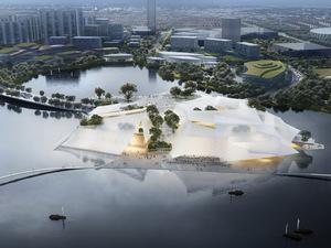 MAD'in Tasarladığı Yiwu Kültür Merkezi'nin İnşaatı 2020'de Başlıyor