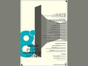 8. Ulusal Peyzaj Mimarlığı Ödülleri
