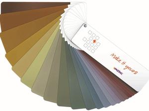 VMZINC® Mineral Pigmentli Yüzeyler