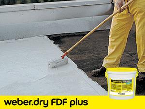 UV Dayanımlı Su Yalıtım Malzemesi: weber.dry FDF plus
