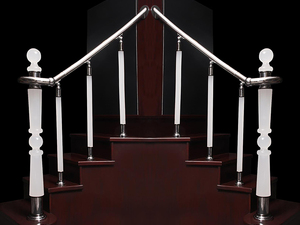 Pleksi'nin Pleksiglas Merdiven Trabzanlarında Son Yeniliği