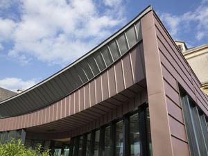 VMZINC® Titanyum Çinko Çatı Bitim Detayları