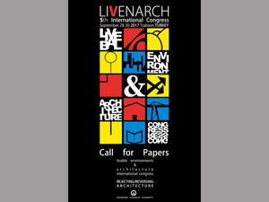 Livenarch V-2017: Uluslararası Mimarlık Kongresi