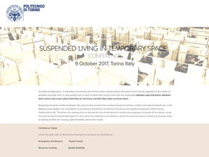 Suspended Living in Temporary Space