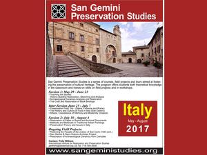 San Gemini Preservation Studies
