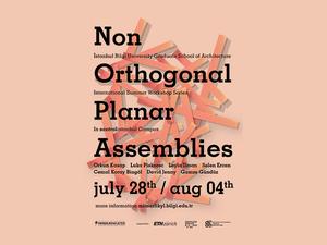 Non Orthogonal Planar Assemblies
