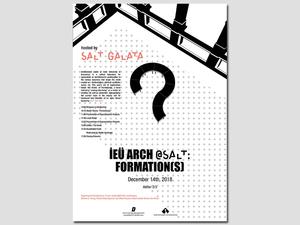 IEUArch@SALT: Formation(s)