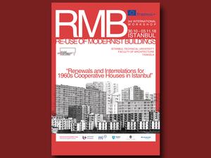 """""""Re-use of Modernist Buildings"""" Uluslararası Öğrenci Atölyesi"""