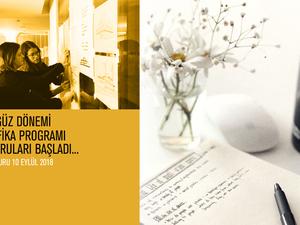 AURA-İstanbul Güz Dönemi Sertifika Programı Başvuruları
